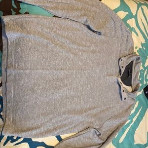 Gray Banana Republic Pullover size Large